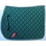Horse Quilted ENGLISH SADDLE PAD Trail Hunter Green 7219