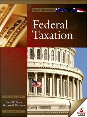 Amazon.com: Federal Taxation with Turbo Tax Basic and Turbo Tax Business (9781426626432): James W. Pratt, William N. Kulsrud: Books