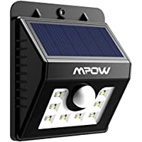 Mpow LED Solar Light Bright Security Lighting Outdoor