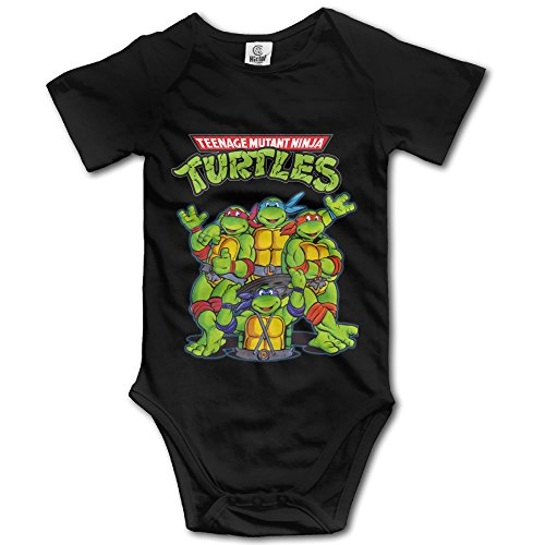 Teenage Mutant Ninja Turtles Unisex Short Sleeve Romper Bodysuit Playsuit Outfits For Baby Boys/Girls ()
