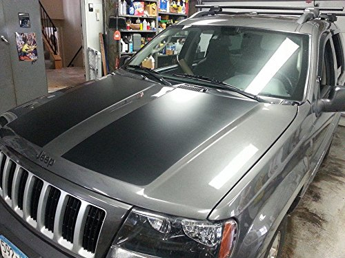 Amazon Com Jeep Grand Cherokee Wj Hood Blackout Decal Sticker Matte