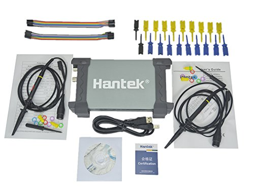 Logic Analyzer Probe - Hantek 6022BL PC Based USB Digital Portable Oscilloscope + 16 CHs Logic Analyzer Auto Diagnostic Tool
