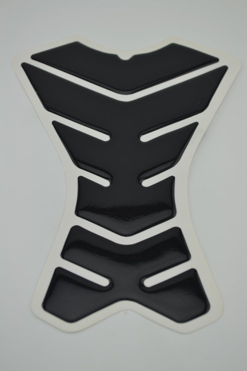 Motorcycle Tank Gas Protector Pad Sticker Fiber Rubber Decal Death Death YG012 Fit For Yamaha FZ6R 2009 2010 2011