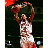 "Derrick Rose Chicago Bulls NBA Action Photo (Size: 11"" x 14"")"