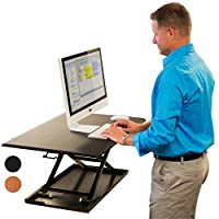 AirRise - Standing Desk Converter | Sit to Stand with your current Desk in Seconds