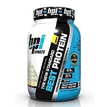 BPI Sports Best Protein Advanced 100% Protein Formula, Vanilla Swirl, 2 Pounds