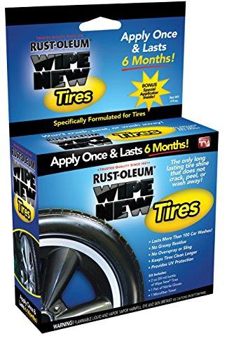 Rust-Oleum TRCAL Wipe New Tire Restore, 2 fl. oz.