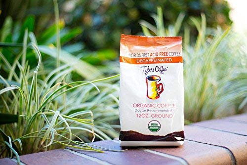 Tylers Acid Free Organic Coffee 12oz Bag - Decaffeinated Ground