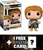 Samwise Gamgee: Funko POP! Movies x Lord of the Rings Vinyl Figure + 1 FREE Official Hobbit Trading Card Bundle (13553)