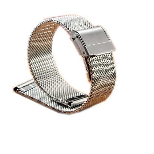 Milanese-Mesh-Stainless-Steel-Watch-Band-18-24mm-Double-Folding-Clasp-Interlock-Safety-Buckle-Watch-Strap