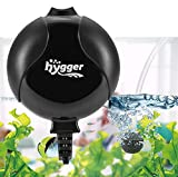 buy Hygger Quiet Mini Air Pump for Aquarium 1.5 Watt Oxygen Fish Air Pump for 1-15 Gallon Fish Tank with Accessories Black now, new 2020-2019 bestseller, review and Photo, best price $17.99