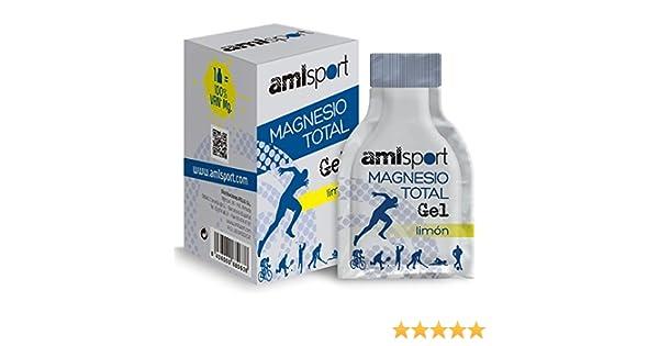 AML Sport Magnesio Total Gel - 12 Unidades: Amazon.es: Deportes y aire libre