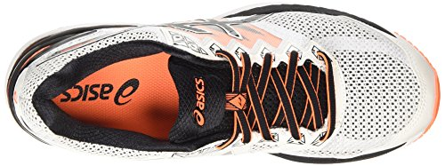 Black 2000 Uomo White Hot Running 4 Asics GT 0190 Orange Bianco Scarpa ZwXx58qT