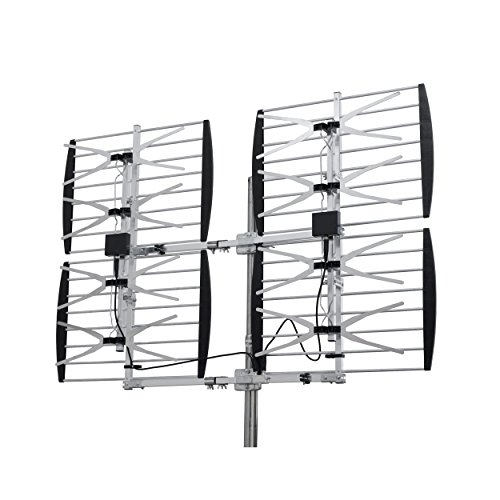 Homevision Technology ANT7286 Digiwave 8 Bay Ultra Clear Digital Outdoor TV Antenna, Silver