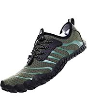 Water Shoes Men, Water Shoes Women, Barefoot Shoes,Quick Dry Aqua Swim Shoes,Slip-on Soft Beach Shoes,Quick Dry Water Shoes,Aqua Sports Outdoor Shoes for Pool Beach Surf Walking Water Park Yoga