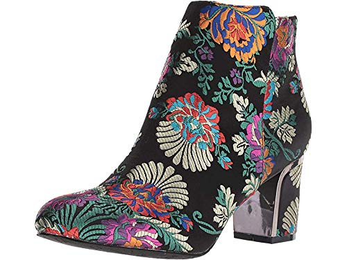 Heels Embroidered - J. Renee Women's Tunatti Black Multi 8.5 M US