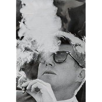 f4c5cafb722 President John F Kennedy Smoking Archival Custom Poster 20x30 Inch  (50cmx75cm)