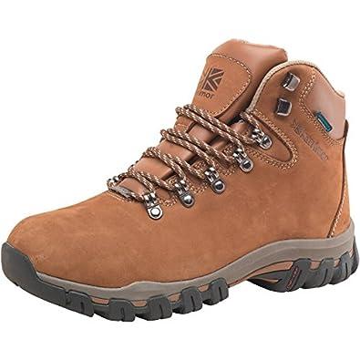 Marron Karrimor Chaussures de Randonnée Mendip 2 Nubuck Weathertite Femme  Marron - 8 UK 8 EUR