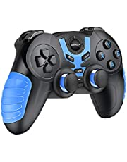Android Controller, BEBONCOOL Wireless Gaming Controller, Phone Gamepad Joypad works with Bluetooth for Android Phone/Tablet/Samsung Gear VR/Emulator (Clip Not Included)