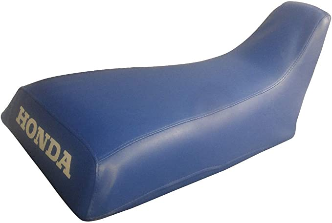 VPS Seat Cover Compatible With Honda ATC 250R 85-86 Logo Blue Standard ATV Seat Cover