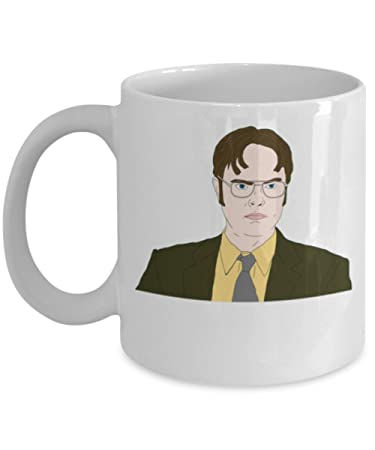 The Office Star Mug. The Office Coffee Mugs. Dwight Shcrute Mug By Trinkets  \
