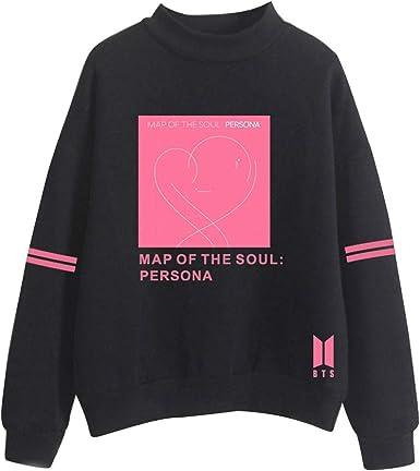 BTS Map of The Soul Persona Sudadera Todos los Miembros KPOP ...