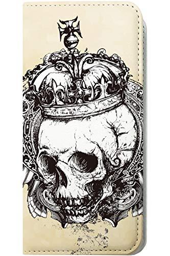 バンジョーラフレシアアルノルディコンサルタントiPhone XR 手帳型ケース 骸骨 骨 ドクロ スカル アイフォン アイフォーン アイホン 手帳型ケース ギター iphonexr ロゴ ロゴ入り ワンポイント