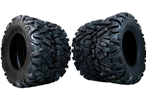 4 New 25x8-12 25x10-12 KT MASSFX TIRE SET ATV TIRES 6 PLY 25'' 25x8x12 25x10x12 by MASSFX (Image #5)