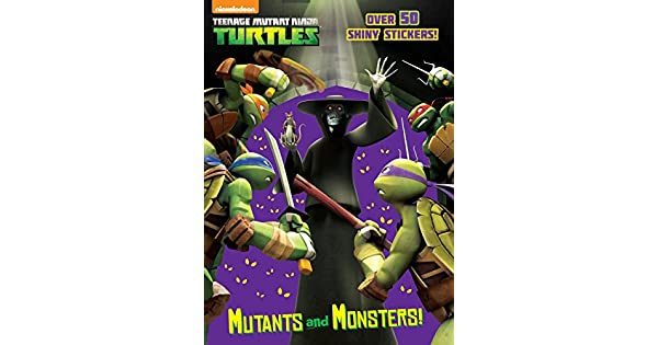 Amazon.com: Mutants and Monsters! (Teenage Mutant Ninja ...