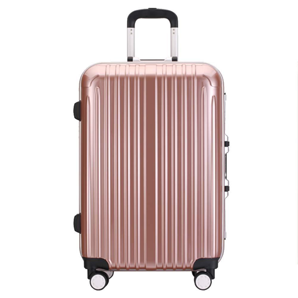 QL-スーツケース 荷物女性パスワードボックストロリーケースユニバーサルホイールスーツケース男性搭乗ボックス4サイズオプション 旅行用品 (Color : A, Size : 52*29*73CM) B07T5XJRHF A 52*29*73CM