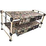 Disc-O-Bed Cam-O-Bunk with Realtree Xtra Including Organizers, X-Large