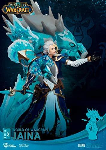Beast Kingdom World of Warcraft: Jaina DS-043 D-Stage Statue, Multicolor