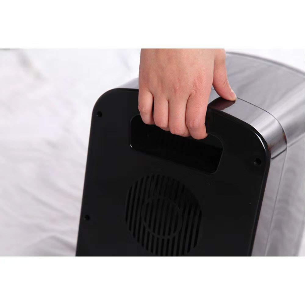 (6L/8Can Black Mini Refrigerator Ship from US) Portable Fridge & Warmer,Bedroom Mini Fridge For Bedroom,Electric Cooler for Car Refrigerator For Car,Office Refrigerator For Office
