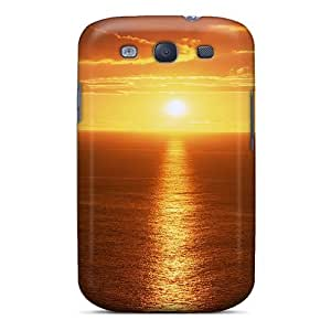 BnwqEhw4913ZDKqy LatonyaSBlack Awesome Case Cover Compatible With Galaxy S3 - Glorious Ocean Sunrise