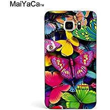 MaiYaCa(TM) M84547 Buterfly Wallpaper phone case for samsung galaxy note5