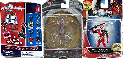 - Power Rangers Red Ranger Saban's Ninja Steel Edition 5