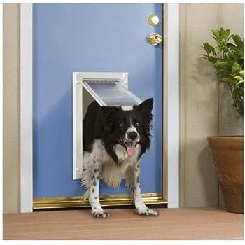 Endura Door Mount Single Flap Pet Door Size: 24\