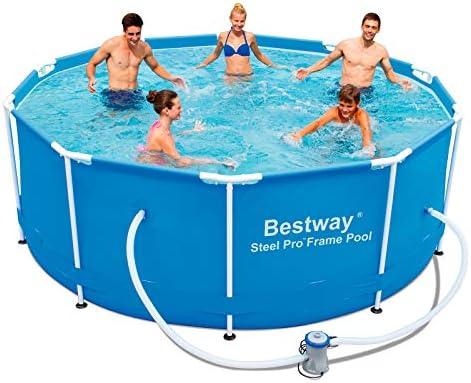 Bestway Steel Pro 56334 Piscina con depuradora 1.249 l/h, 305 x ...