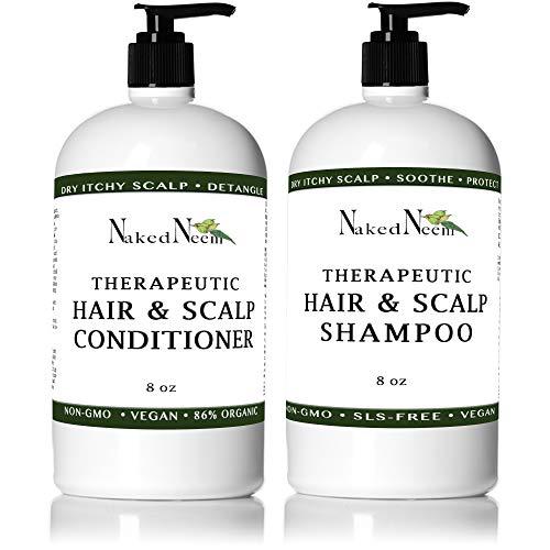 Neem Scalp Shampoo (8oz Shampoo & Conditioner Kit)