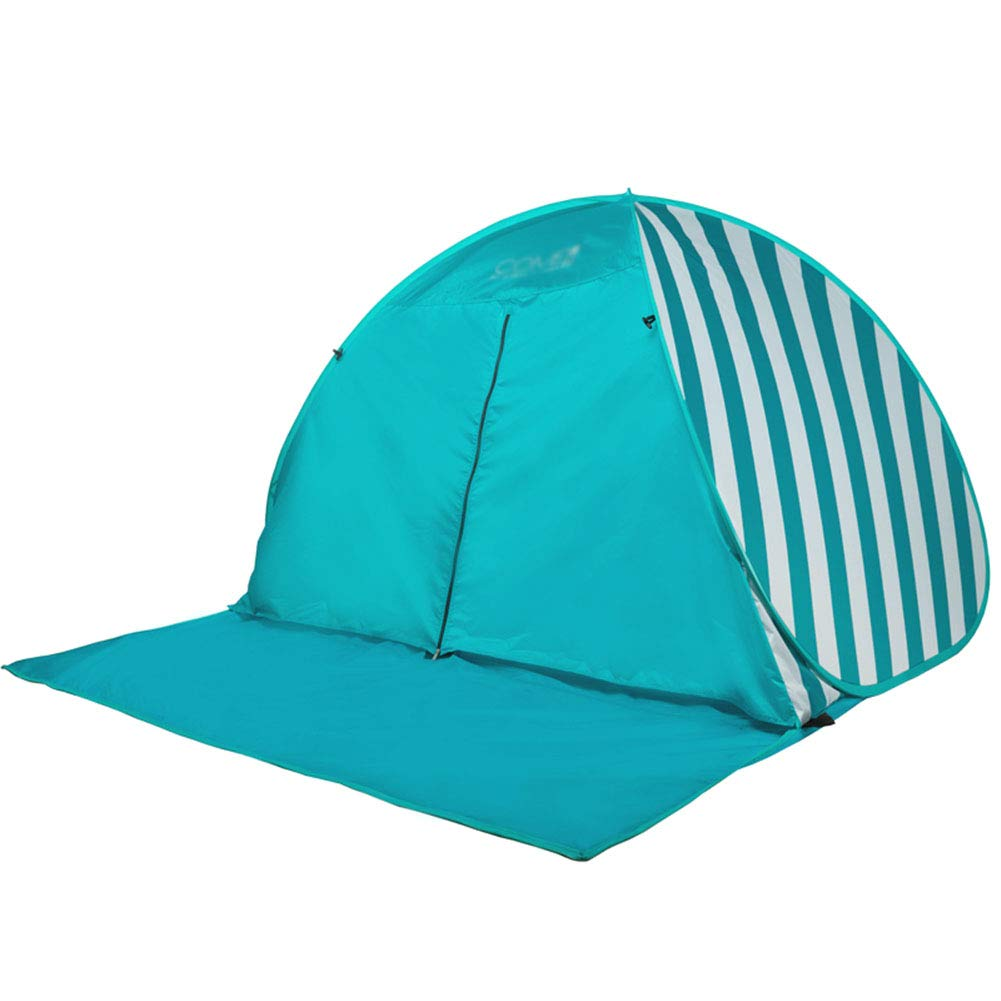 Yuhong Zelt, 3-4 People Fully Automatic Beach Zelte Sunscreen Waterproof Pop Up Umbrella Sun Shelter Zelt