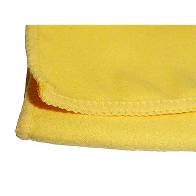 Atlas Microfiber Polishing Chamois Cloth Towel - 12-Pack: Automotive