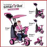 smarTrike Spark 4 in 1 Baby Trike - Pink