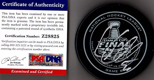 PSA/DNA Corey Crawford 2015 Stanley Cup Real Game 6 Puck Autographed Signed