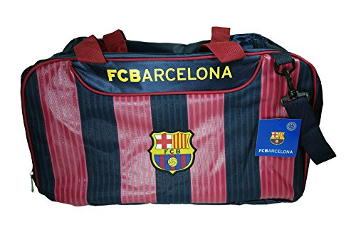 F.C. Barcelona Fc Barcelona Authentic Official Licensed Soccer Duffle Bag by F.C. Barcelona
