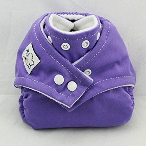 Girls Generation Genie Costume (1PCS Reusable Baby Infant Nappy Cloth Diapers Soft Covers Baby Nappy Size Adjustable Training Pants Size Adjustable (Purple Color))