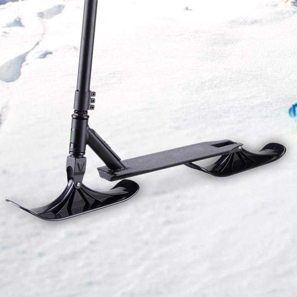 HUVE Trineo De Nieve Scooter De Esquí Accesorios De Trineo De Esquí Patinete De Nieve De Doble Uso para Niños Accesorio De Esquí De Nieve para ...