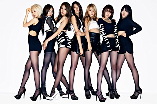 AOA Seolhyun Miniskirt Asian Sexy Hot Girls Poster 24x36
