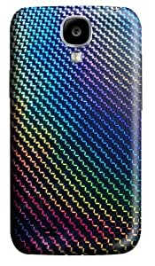 Color curve Background Custom Samsung Galaxy I9500/Samsung Galaxy S4 Case Cover Polycarbonate 3D