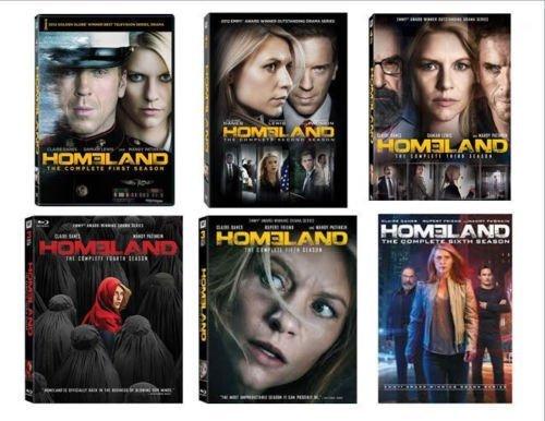 (Homeland Season 1-6 Bundle)