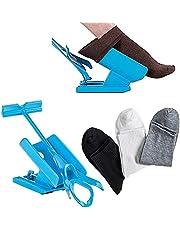 Sock Slider,Sock Helper Sock Aid Easy On,Easy Off,Pain Free No Bending,Sock Aid Kit,Sock Assist Device Sock Applicator for Disabled Elderly,Senior,Pregnant,Diabetics (1 Slider + 3 pairs of socks)